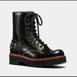 Coach Moto Hiker Boot sz 6.5